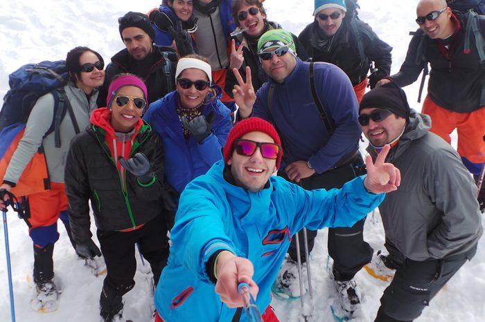 Trekking con Raquetas
