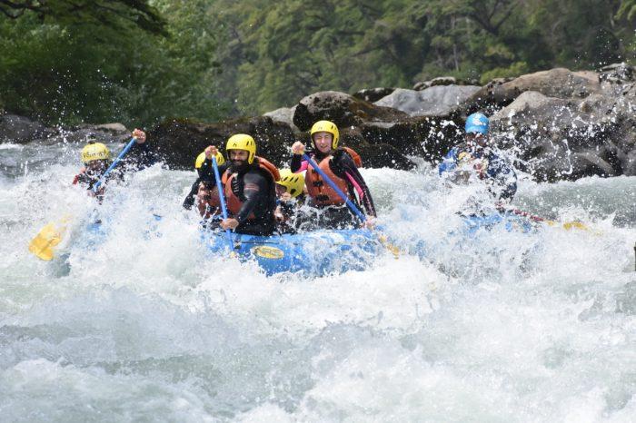 Rafting Alto Pucon Rio Trancura