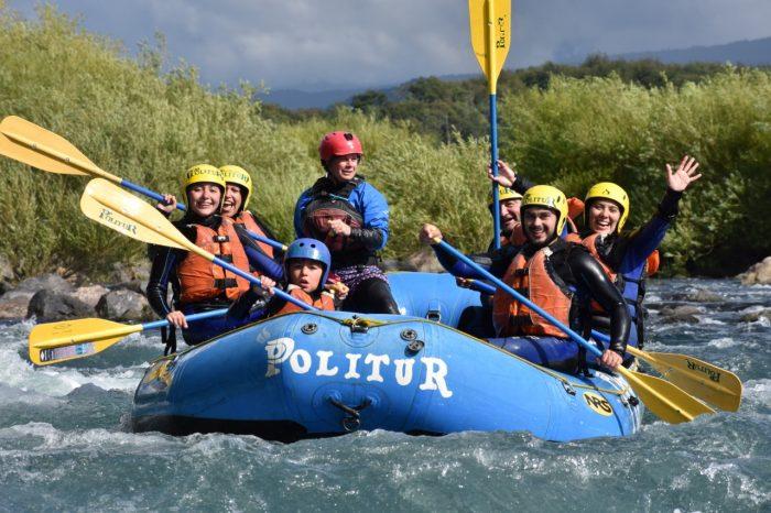 Rafting Bajo en Pucón
