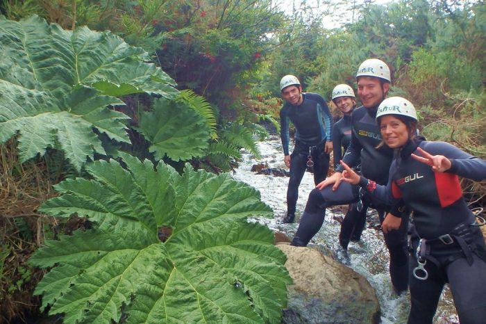 Canyoning en Pucón